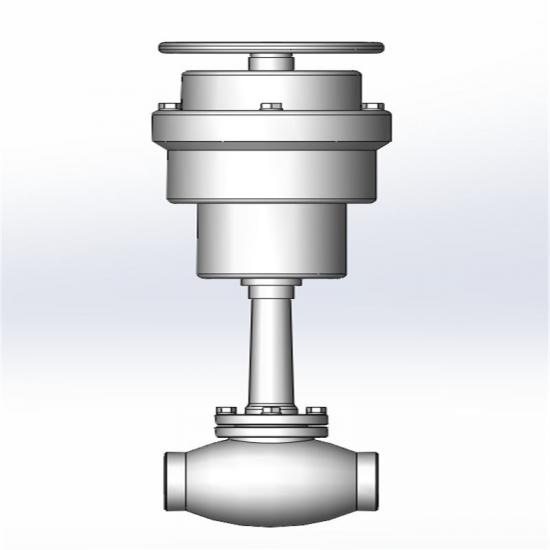Cryogenic emergency shut-off valve -EBOOMYA